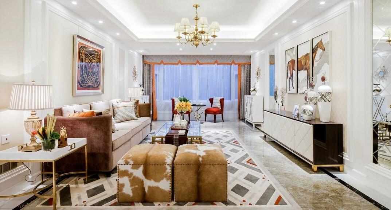 秦皇岛市90平米房子装修-就选-亚美利加整装馆